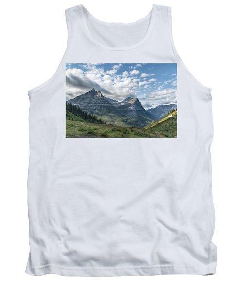 Mt. Oberlin From Logan Pass Tank Top