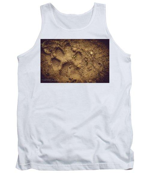 Muddy Pup Tank Top by Stefanie Silva
