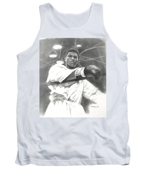 Young Cassius Clay Tank Top by Noe Peralez