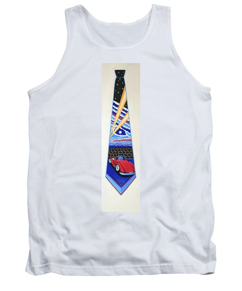 Mulholland Drive Tank Top by Tracy Dennison