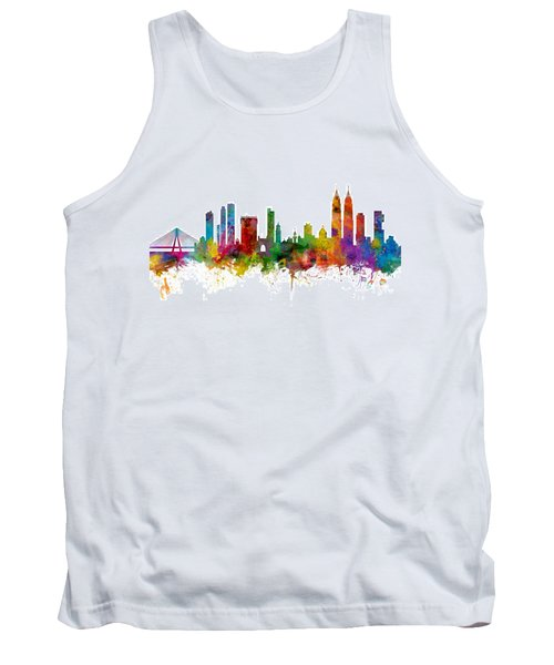 Mumbai Skyline India Bombay Tank Top