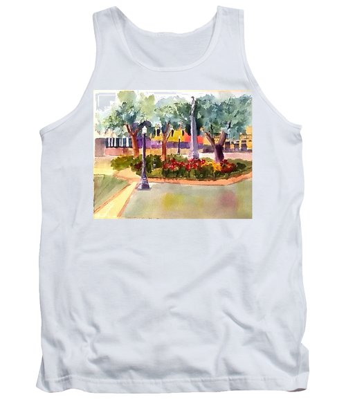 Munn Park, Lakeland, Fl Tank Top by Larry Hamilton