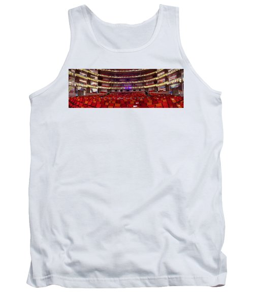 Tank Top featuring the photograph Murrel Kauffman Theater by Jim Mathis