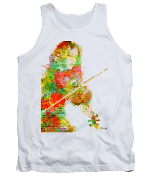 Music In My Soul Tank Top by Nikki Smith