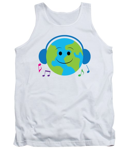 Musical World Tank Top by A
