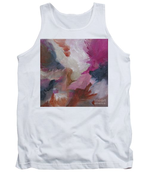 Tank Top featuring the painting Musing124 by Elis Cooke