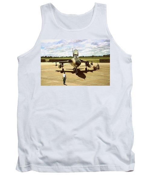 My Baby F-105 Tank Top by Peter Chilelli