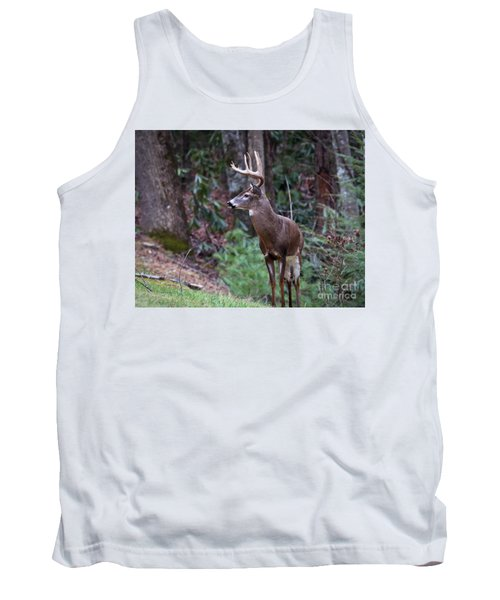 Tank Top featuring the photograph My Best Side by Douglas Stucky