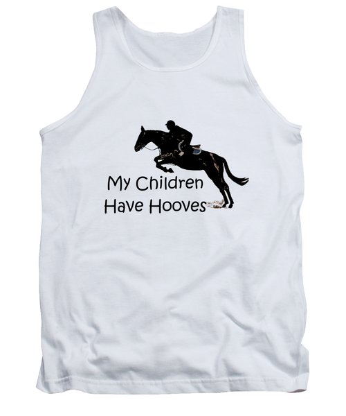 My Children Have Hooves Tank Top by Patricia Barmatz