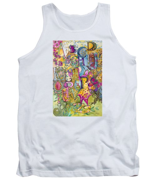 My Garden Tank Top by Claudia Cole Meek