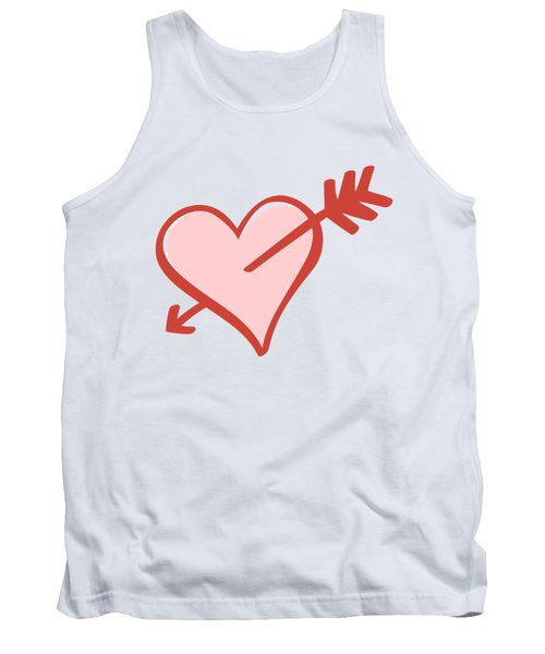 My Heart Tank Top by Alice Gipson