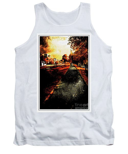 My Neighborhood Tank Top by Al Bourassa