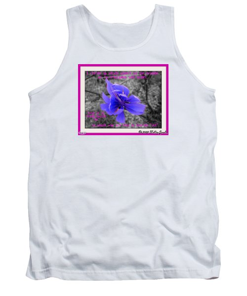 My Well-being Tank Top by Holley Jacobs