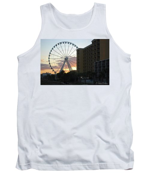 Myrtle Beach Sunset 2 Tank Top by Gordon Mooneyhan