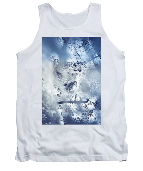 Mysterious Carnival Mask Tank Top