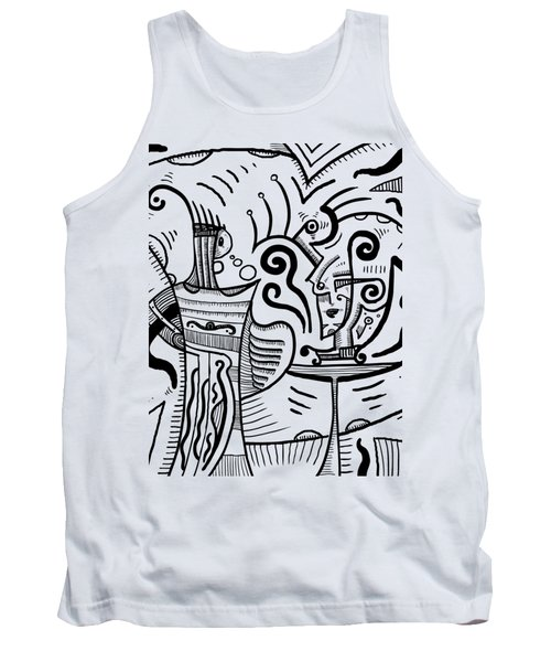 Mystical Powers Tank Top by Sotuland Art