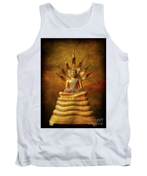 Tank Top featuring the photograph Naga Buddha by Adrian Evans
