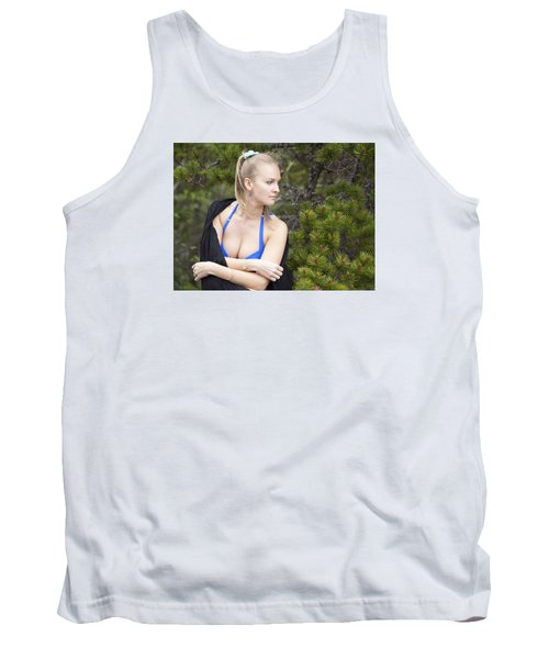 Naked In A Forest Tank Top