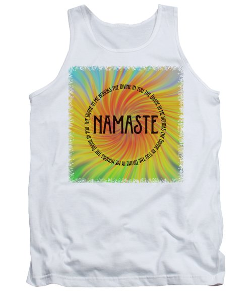 Namaste Divine And Honor Swirl Tank Top