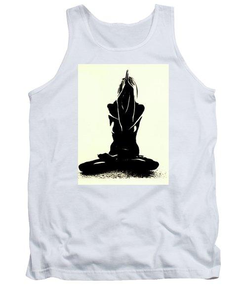 Namaste Tank Top by Susan Duda