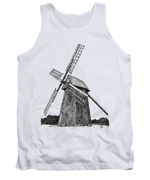 Nantucket Windmill Number One Tank Top