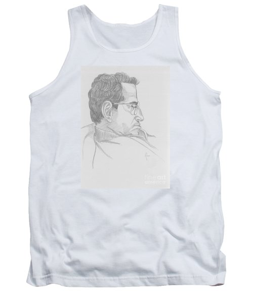 Tank Top featuring the drawing Nap by Annemeet Hasidi- van der Leij