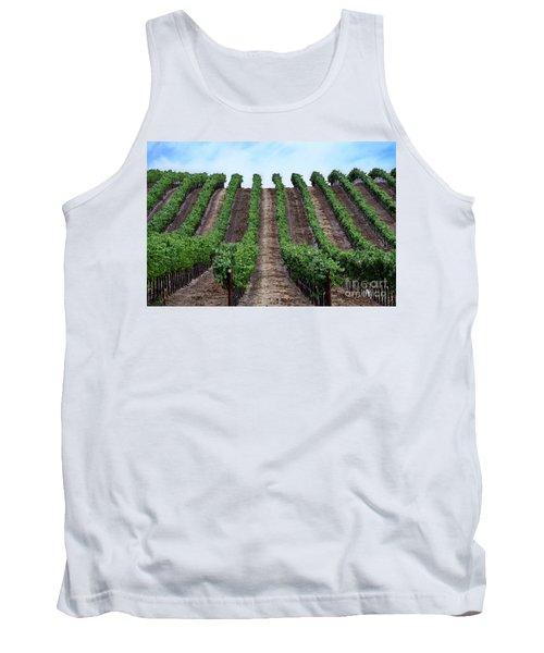 Napa Vineyards Tank Top by Judy Wolinsky
