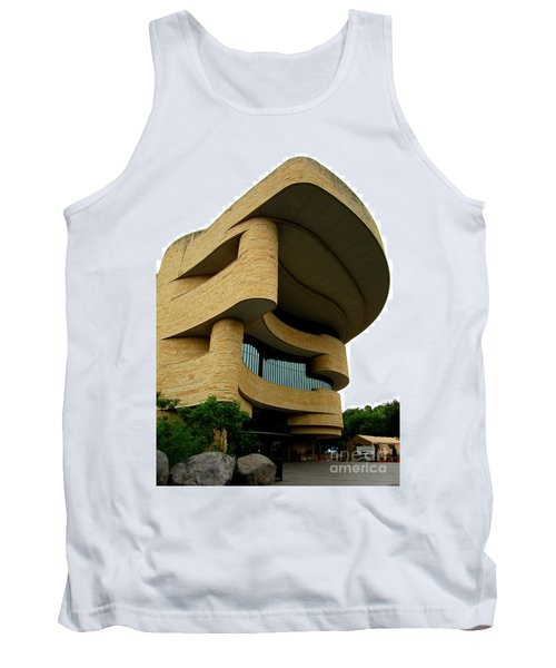 National Museum Of The American Indian 1 Tank Top by Randall Weidner
