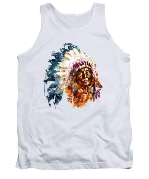 Native American Chief Tank Top