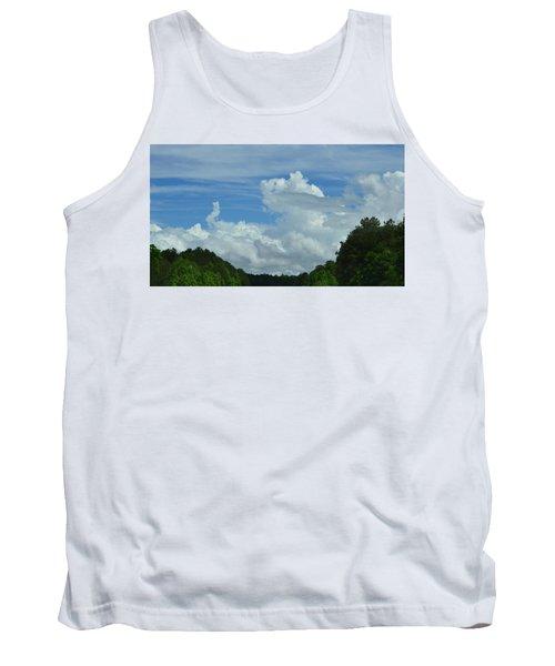 Natural Clouds Tank Top