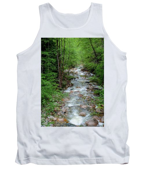Naturally Pure Stream Backroad Discovery Tank Top