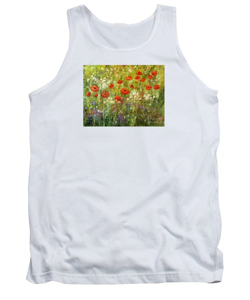 Nature Walk Tank Top by Valerie Travers