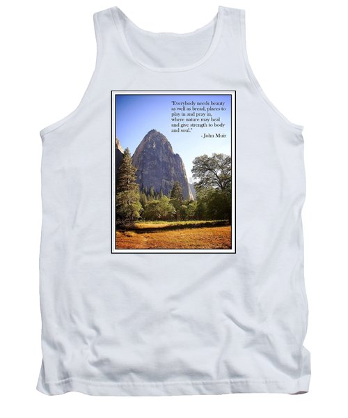 Natures Cathedral Tank Top by Glenn McCarthy Art and Photography