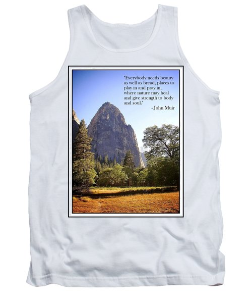Natures Cathedral Tank Top