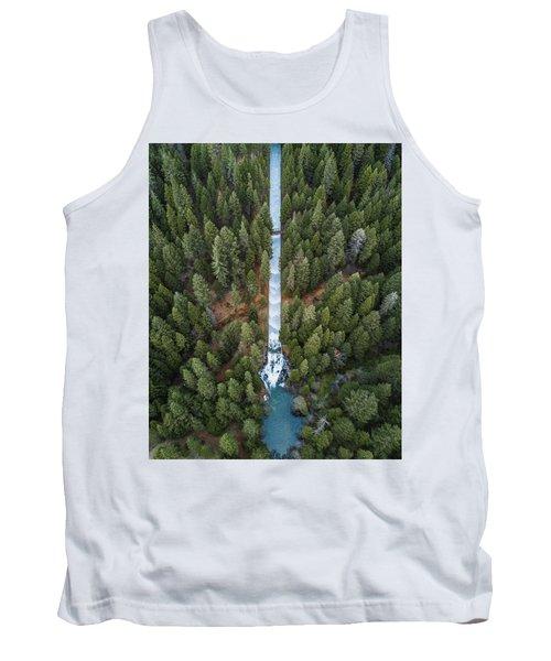 Natures Waterslide  Tank Top