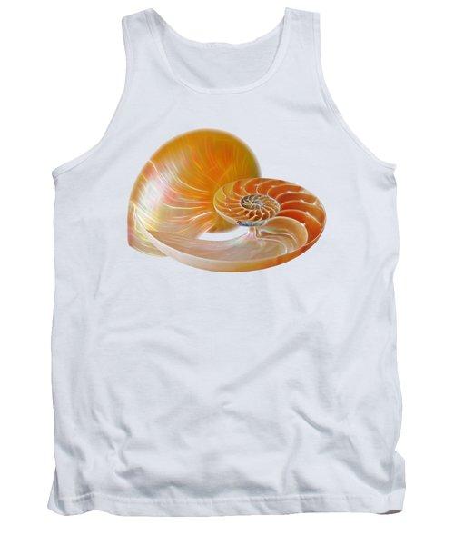Nautilus Golden Glow Tank Top