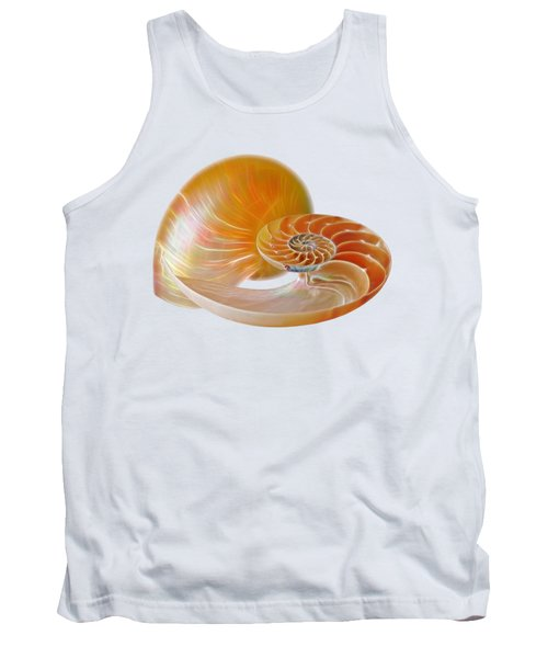 Nautilus Golden Glow Tank Top