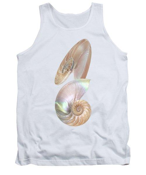 Nautilus Natural Jewel Of The Sea - Vertical Tank Top