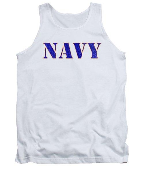 Navy Tank Top