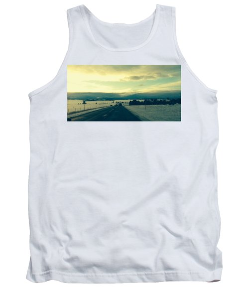 Tank Top featuring the photograph Near Hartsel by Christin Brodie