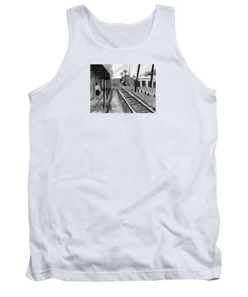 Needham Train Station 1959 Tank Top