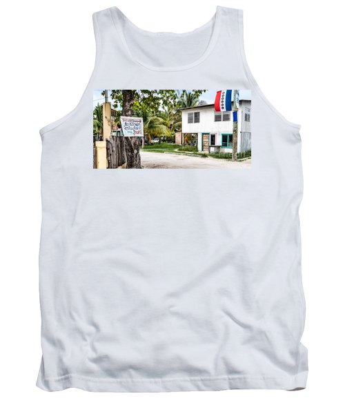 Tank Top featuring the photograph Neglected In Paradise by Lawrence Burry