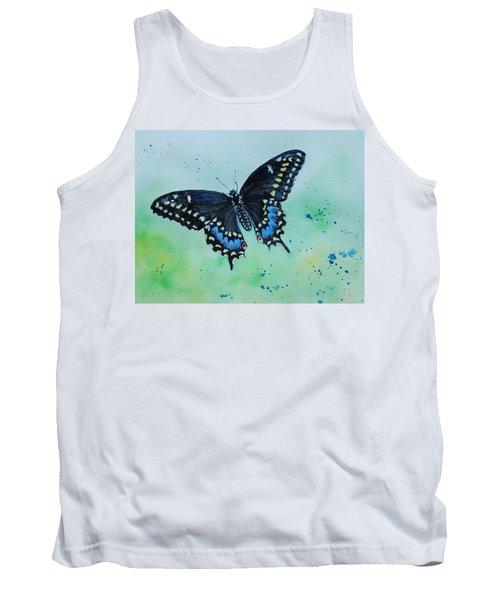 Neon Swallowtail Tank Top