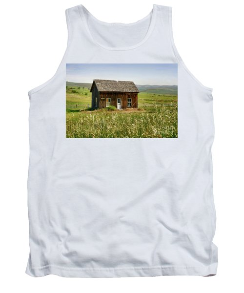 Nephi Moss Cabin Tank Top