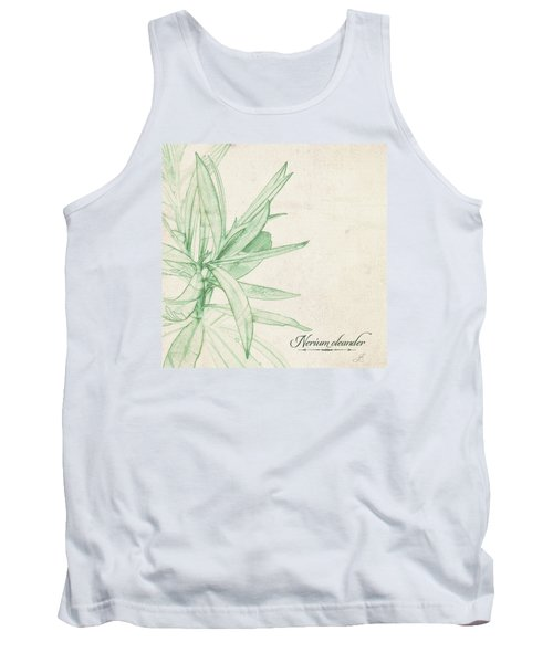 Nerium Oleander Tank Top