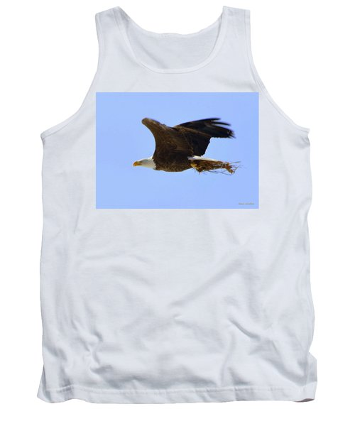 Nesting Eagle Tank Top