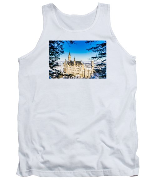 Neuschwanstein Castle Tank Top by Alpha Wanderlust