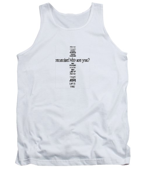 Never Forget, A Fax For You Tank Top