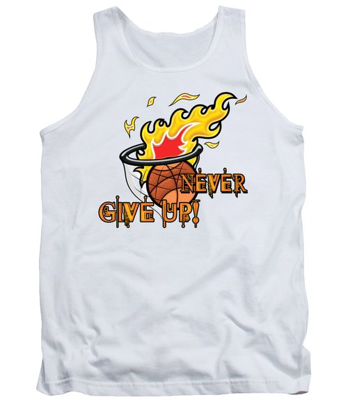 Never Give Up Hebrews Chapter 11 Tank Top