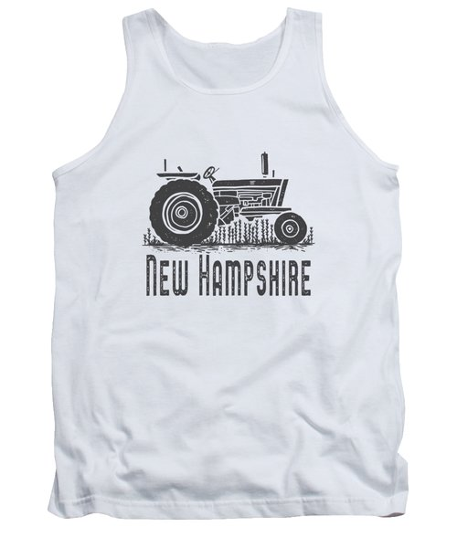 New Hampshire Vintage Tractor Tank Top